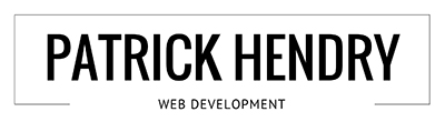 Patrick Hendry | Web Development